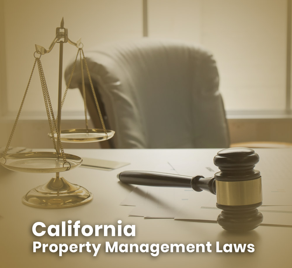 2021 California Property Management Laws